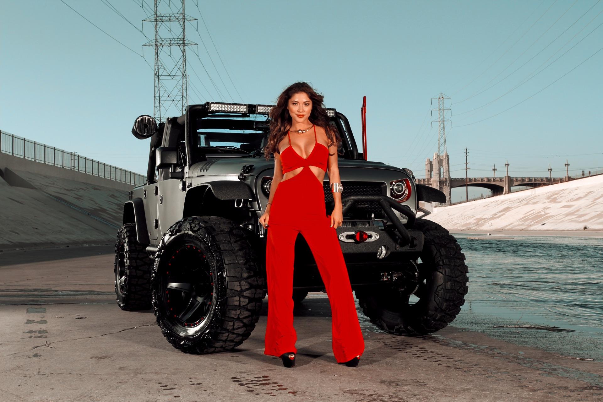 Arianny Celeste S Wrangler Rubicon Dropstars Wheels