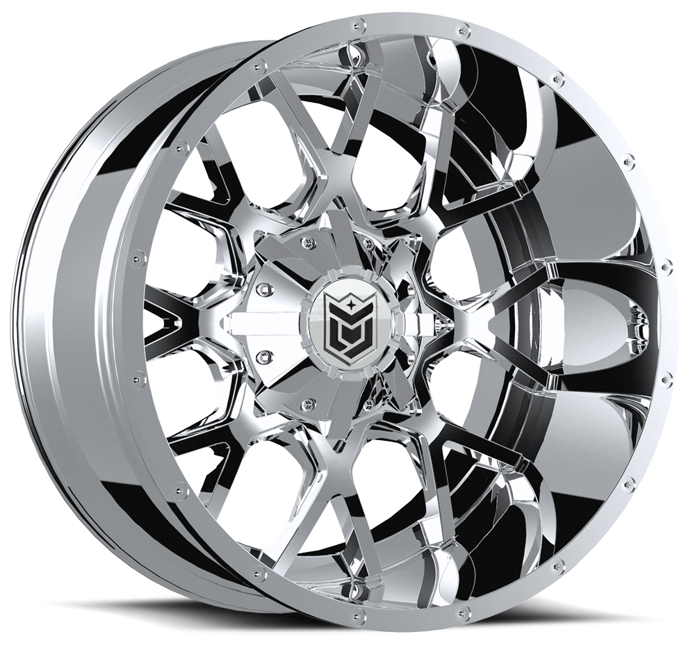 654V-2108925 Dropstars 654V Chrome PVD 20x10 8x180-25mm