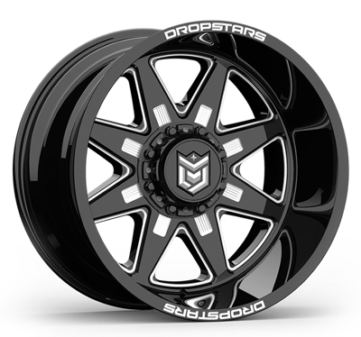 Dropstars 654V Chrome PVD 20x10 8x170-25mm 654V-2108725